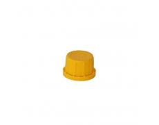 Nakrętka fi 30 żółta + uszczelka