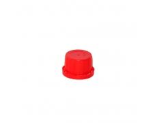 Nakrętka fi 30 czerwona + uszczelka