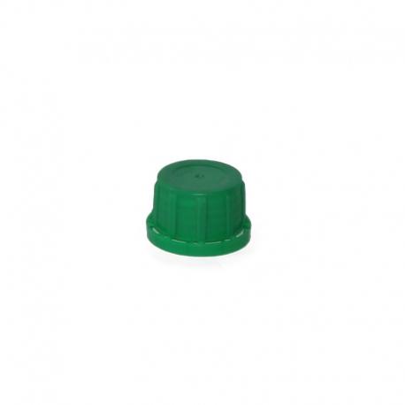 Nakrętka zielona fi 30 + uszczelka
