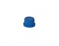 Nakrętka fi 30 niebieska + uszczelka